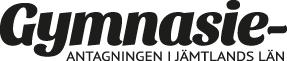 Gymnasieantagningen i Jämtland