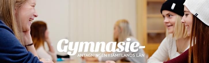 Välkommen till Gymnasieantagningen i Jämtland